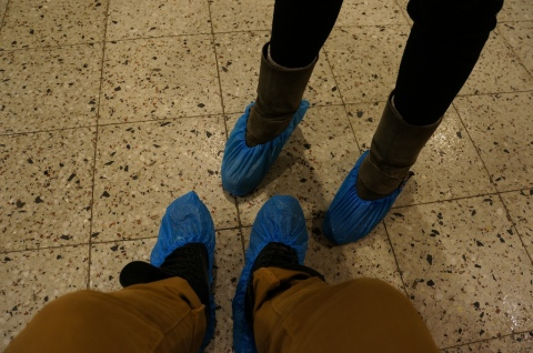 Shoe Protection at Fittja School